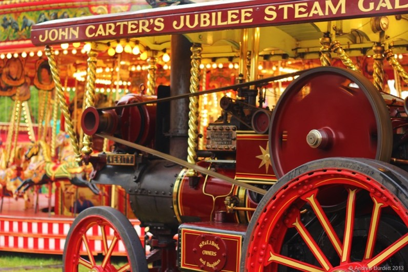HORSEPOWER: Rides and steam engines go hand-in-hand.