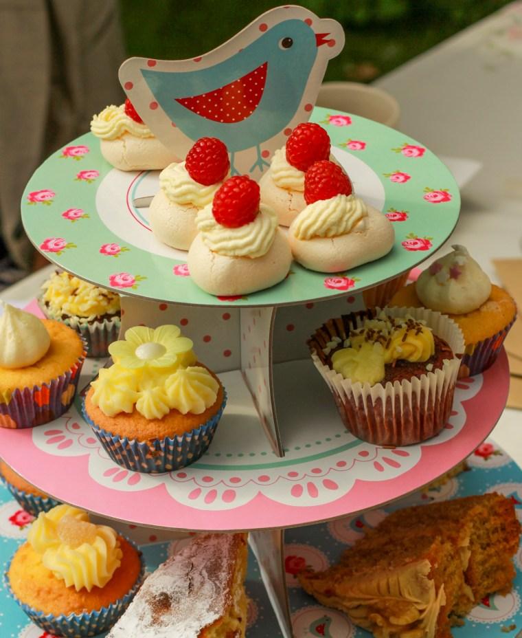 Lovingly homemade cakes on offer.