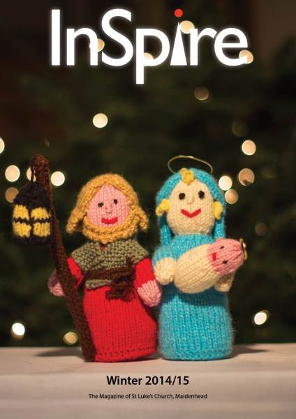 Front cover of Winter 2014/15 edition of InSpire magazine of InSpire.