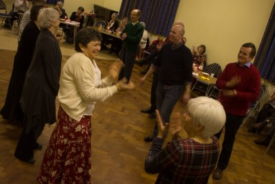 Many of the dances concluded with everyone clapping.