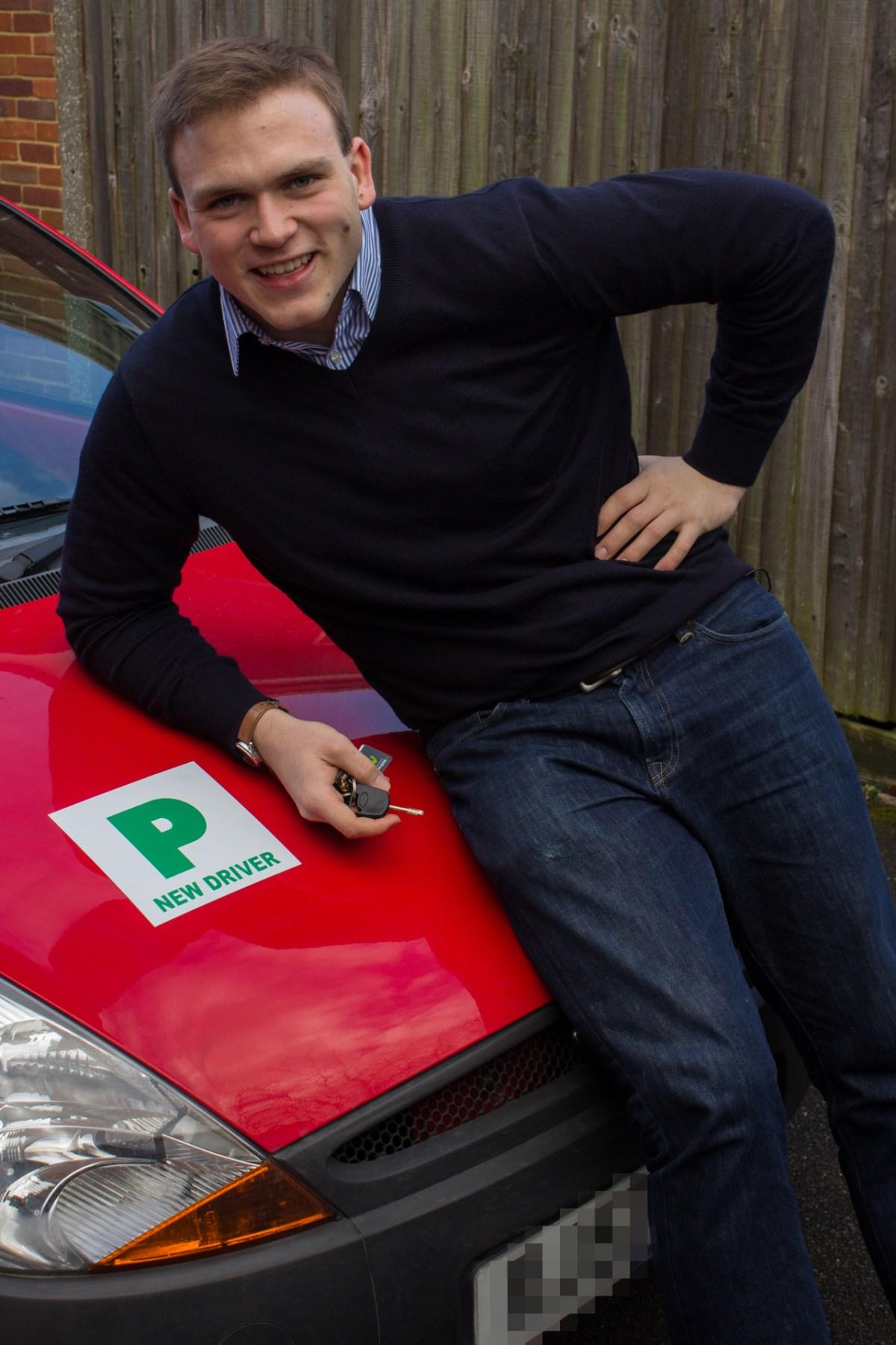 Andrew Burdett with P-plates and keys to the family Ka.