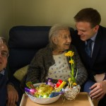Matthew, Mum, and I visited Dorothy in her nursing home this afternoon.