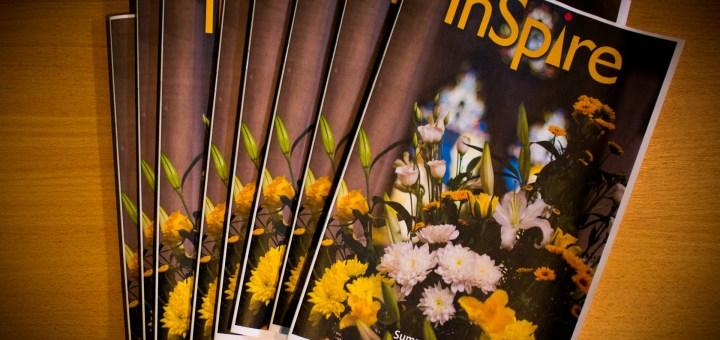 Copies of the latest (Summer 2015) edition of InSpire magazine – the parish newsletter of St Luke's Church, Maidenhead.