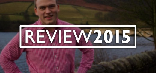 Titlecard for Andrew Burdett's review of the year 2015 film.