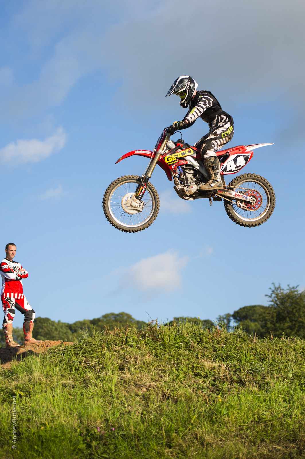 Photo of Motocross Rider Bike Photography Goodwood by Andrew Butler Exeter Photographer Devon