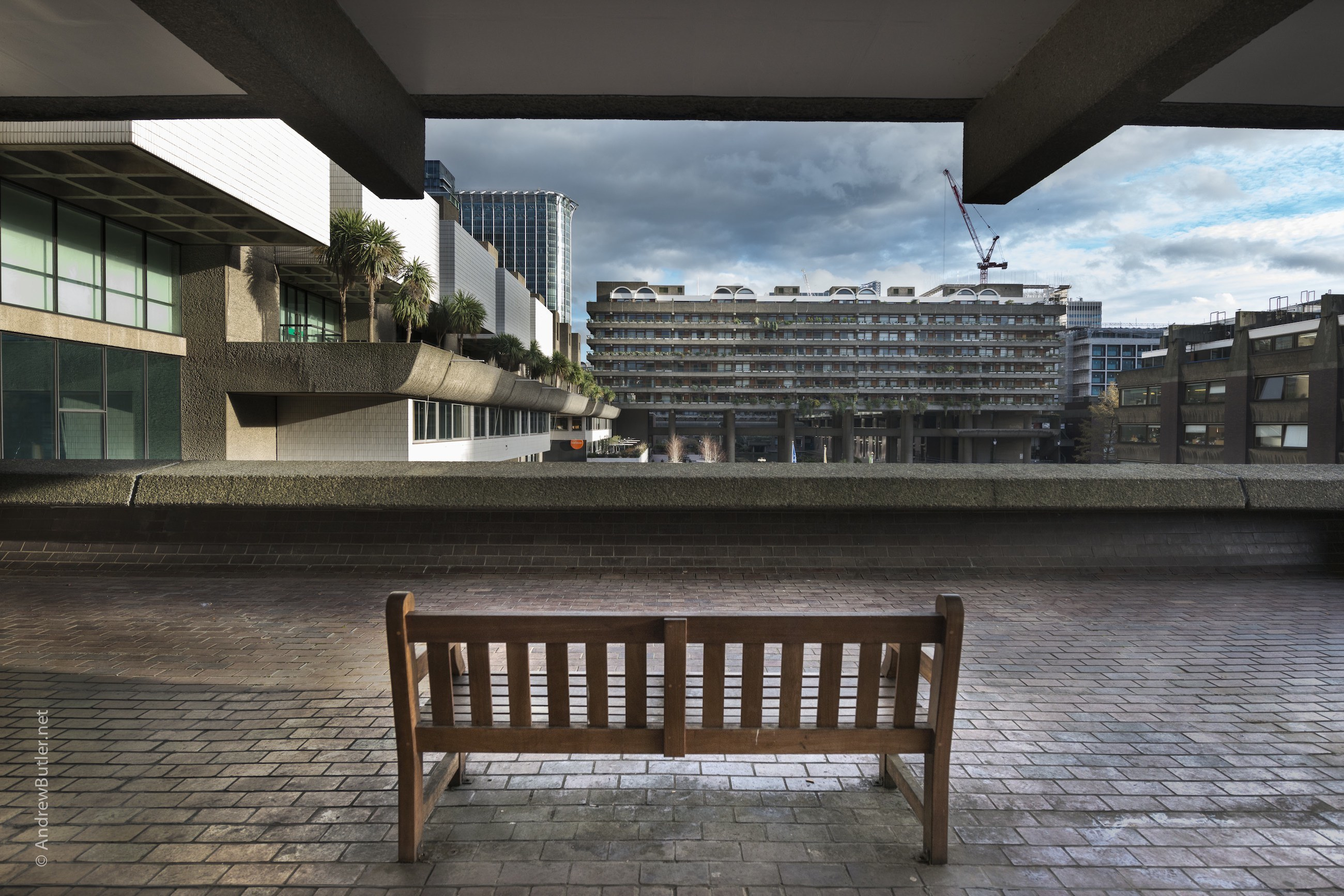 Architectural Photography, Barbican, City of London by Andrew Butler - Exeter, Devon