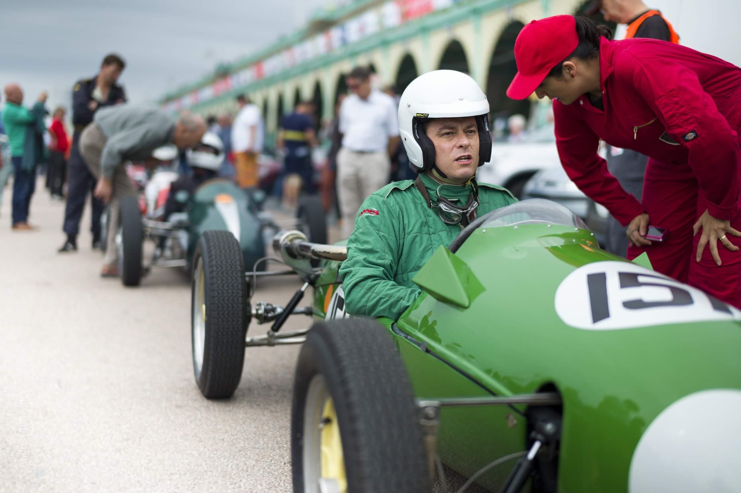 Cooper at Brighton Speed Trials