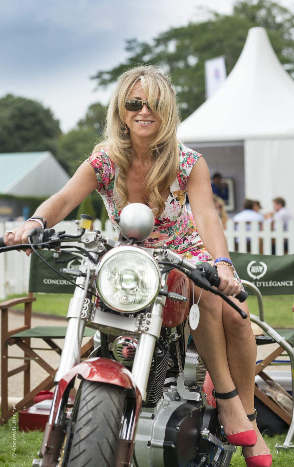 Salon Privé 2014 Mac Motorcycles Photograph by Andrew Butler of Exeter Devon