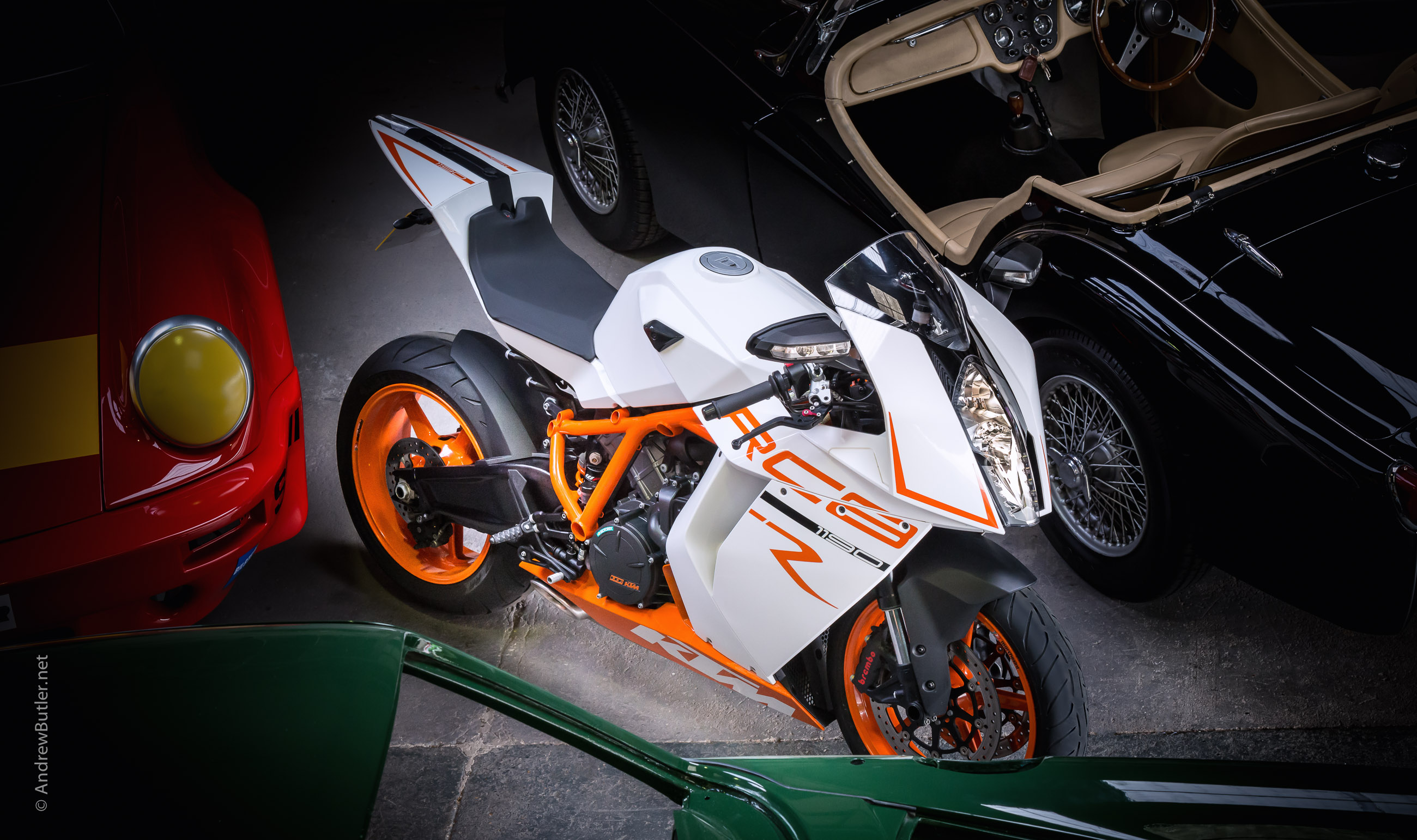 KTM 1190 Superbike Photography by motorbike photographer Andrew Butler