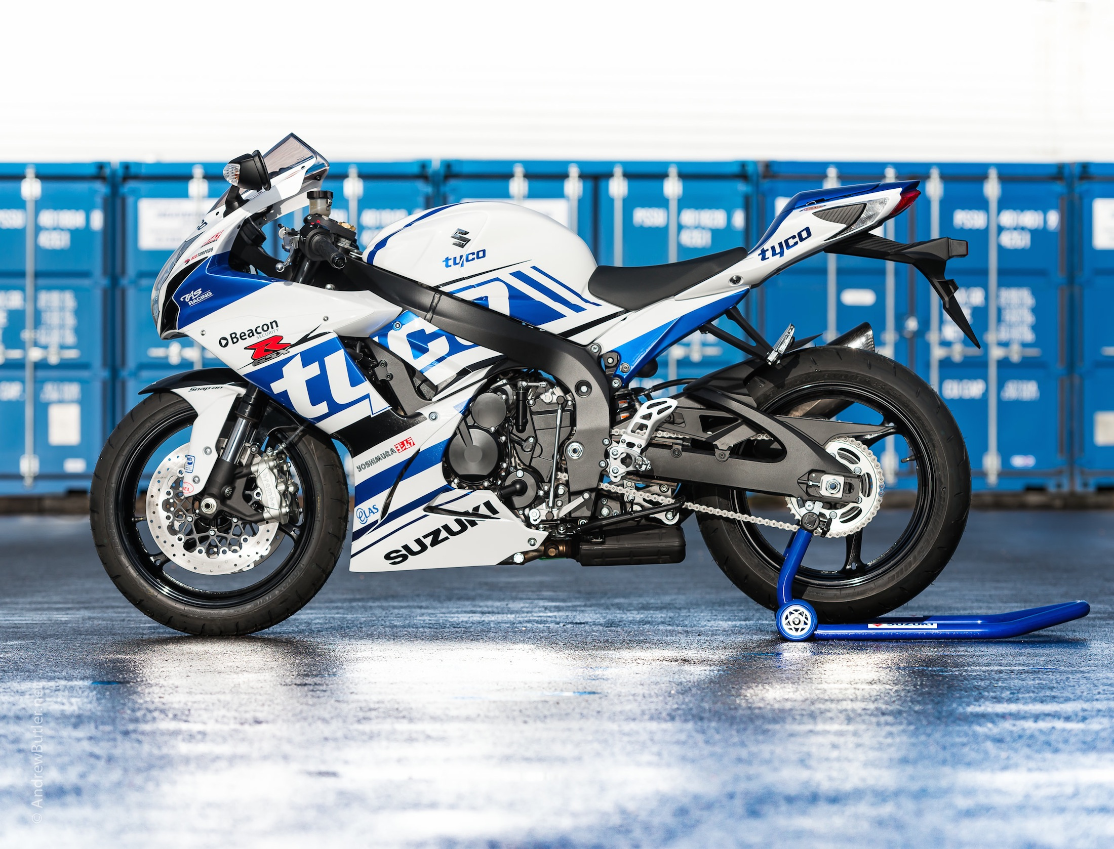 Tyco GSX 600R Suzuki by Andrew Butler by motorbike photographer Andrew Butler