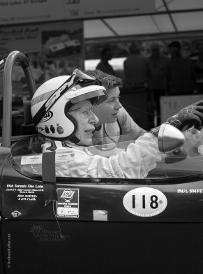 John Surtees Goodwood FOS by Exeter Portrait Photographer Andrew Butler