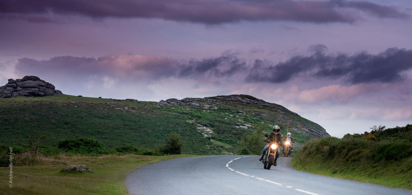 Devon Commercial Photography Library Dartmoor Bike