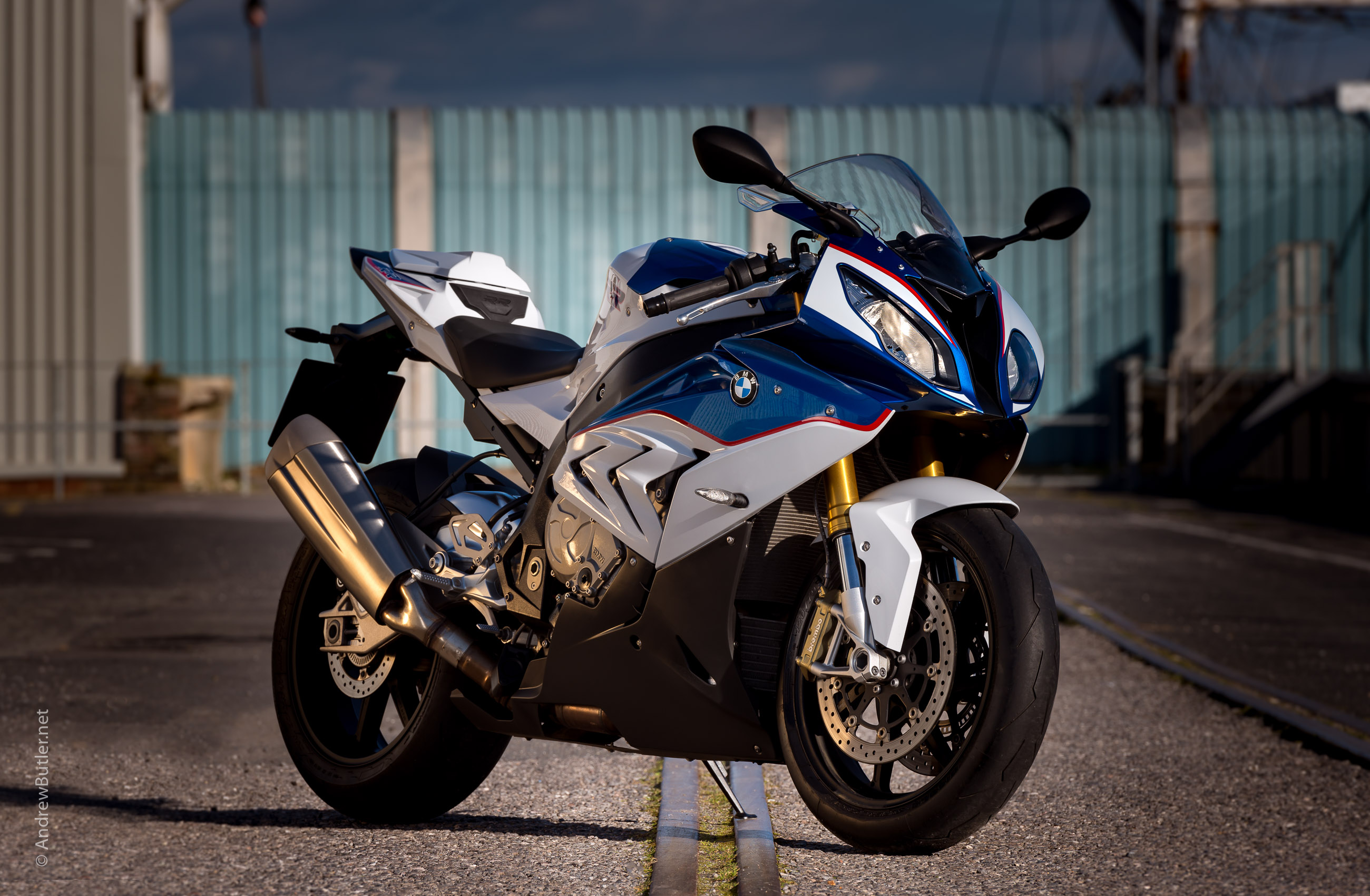 Photographing The Bmw S1000rr In Weymouth Dorset