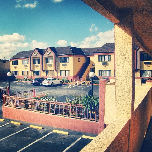 Throwback #LosAngeles, #California, #motel