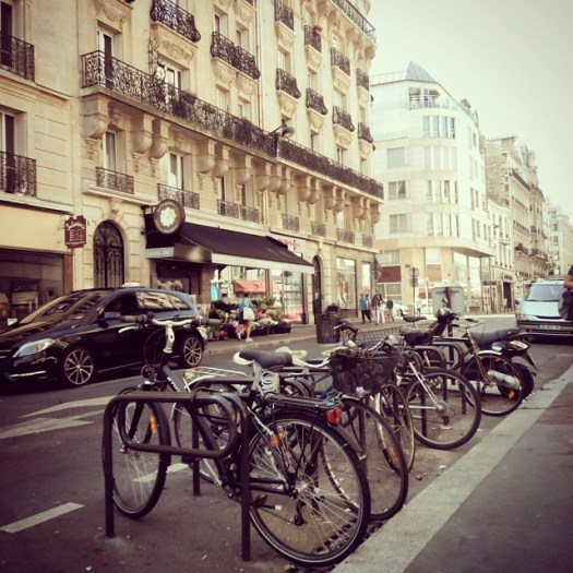 Bicycles in #Paris. #France #bicycles