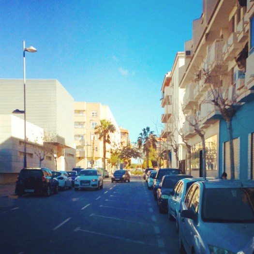 A street close to the University of Alicante #street #sanvicentedelraspeig