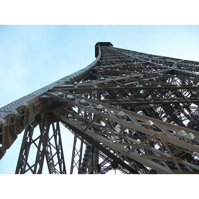 The Eiffel Tower #parisfrance #paris #france #beautiful #beauty #parisjetaime #parisphoto #parismonamour #eiffeltower #torreeiffel #igersfrance #topparisphoto #wanderlust #travel #parismaville #ig_france #parisian #parislove #cityscape #french #architecture #architectureporn #toureiffel #buildings #eiffel #sky #perspective #parisfashion #parisphotographe #lines
