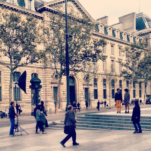 Photoshoot at Place de la République, Paris, France