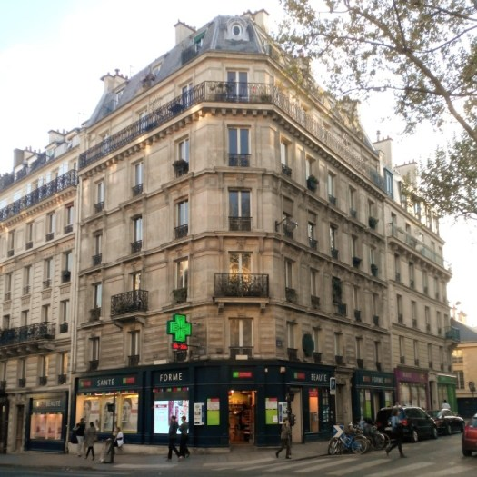 The Pharmacie Monge building, Paris, France.