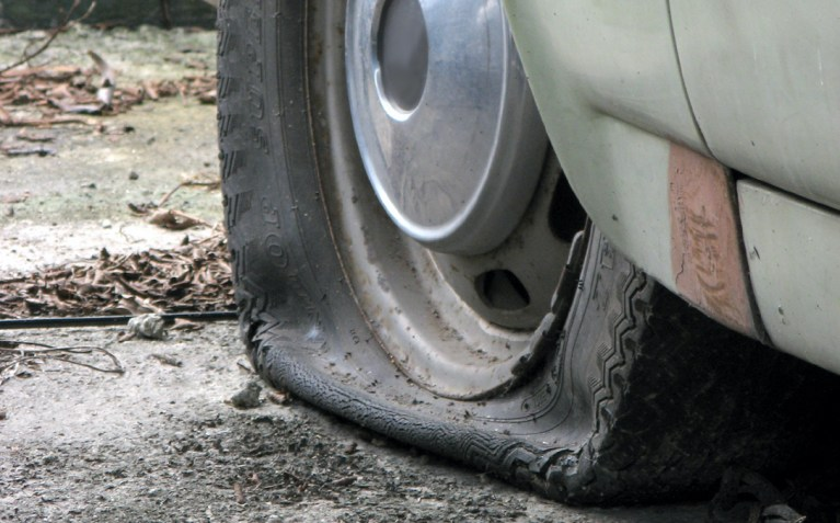 I Love Flat Tires!