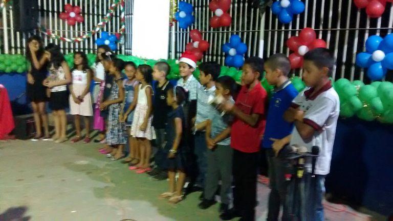 Christmas Program at Ebenézer