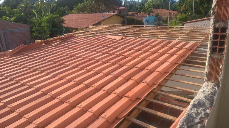 Ebenezer Construction Progress: Tile Roof Installed
