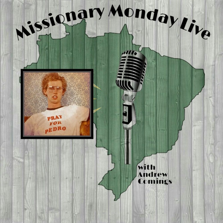 Missionary Monday Live: Pray for Pedro