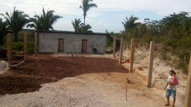 Camp Construction Progress: Columns, Flooring, and Dividers