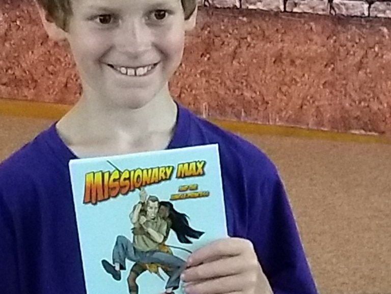 Vacation Bible School, with a Very Special Prize