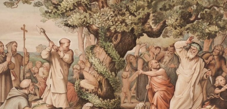Chopping Down Thor's Oak – The Missionary as Colonizer