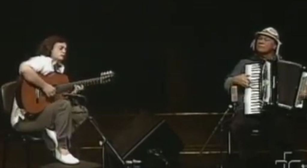 "Best of Brazil: Jobim's ""Wave"", played by Dominguinhos and Yamandú Costa"