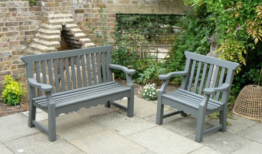 Grey Painted Garden Furniture - Home & Garden Improvement ...