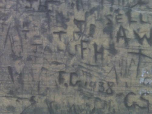 Old graffiti