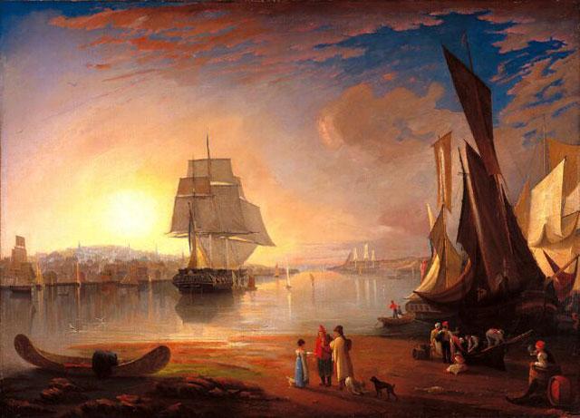 Unknown Artist, Port of Halifax, 1830s