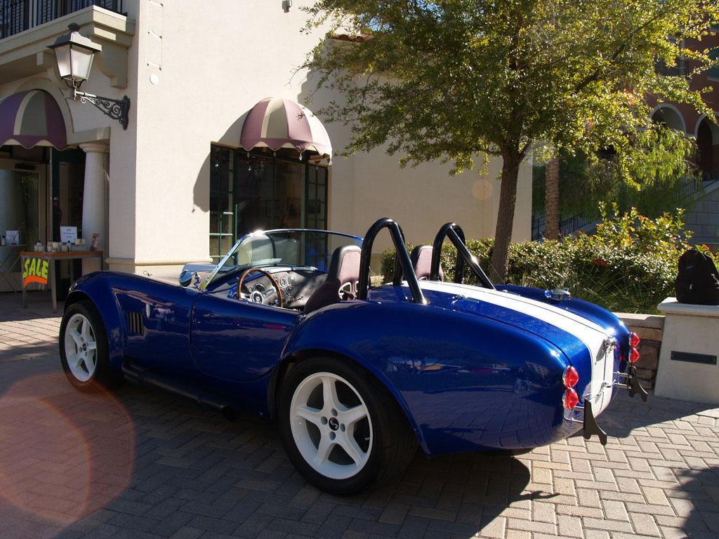 Shelby Cobra at Lake Las Vegas Car Show 2011
