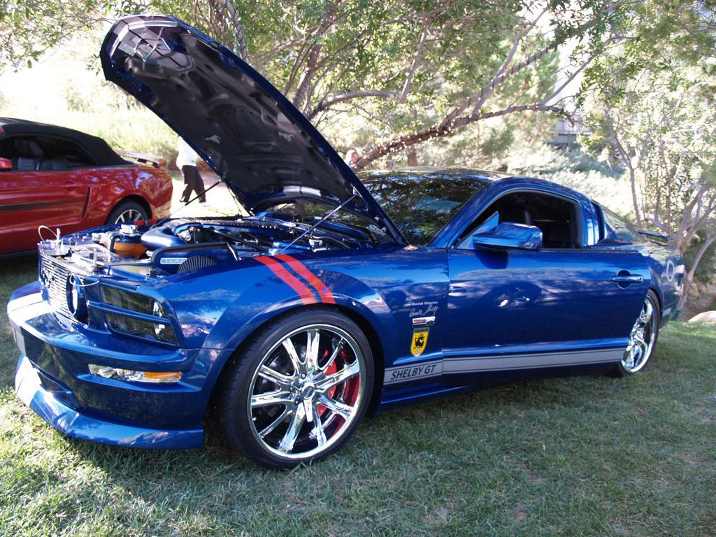 Blue Mustang at Lake Las Vegas Car Show 2011