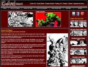 Comic Art Depot
