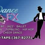 DanceFX Business Card Design