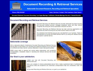 Document Recording Retrieval Services