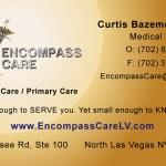 Encompass Care Business Card Design