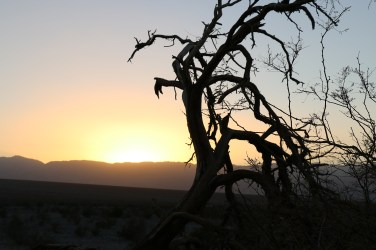 Sunset at Death Valley