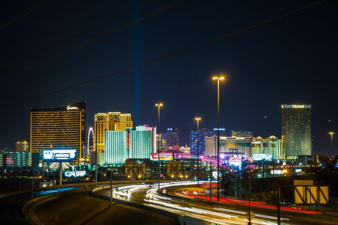Night Photography, Cityscape of Las Vegas