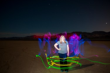 Night Photography, Painting with Light, Desert Photography
