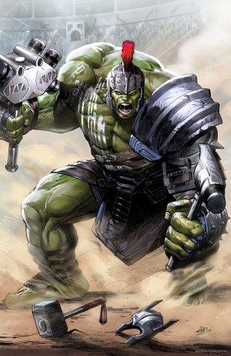 Eric Ninaltowski Comic Art - Hulk Ragnarok