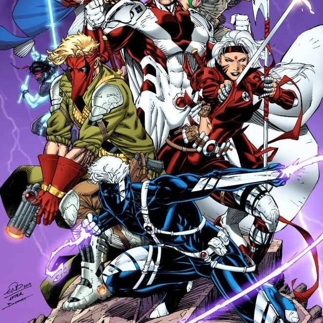 Eric Ninaltowski Comic Art - Wildstorm colors by Thomas Mason