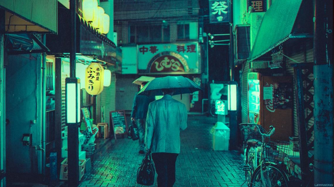 Blade Runner Vibes Tokyo
