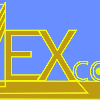 This was a logo type for graphic design; I chose Lex LUthors Lex Corp from the Superman comic books. There are three L's for his initials.
