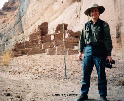 Me Visiting Ancient Anasazi Ruins