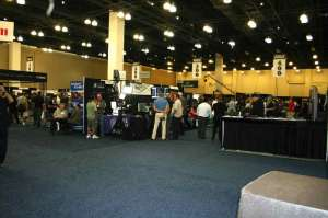 Digital Video Expo Pasadena September 2012 - This is pretty much the entire exhibit hall. That just about all there is.