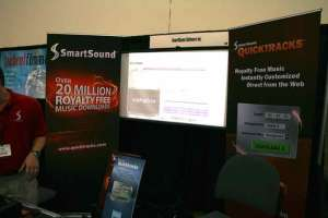 SmartSound Digital Video Expo Pasadena September 2012